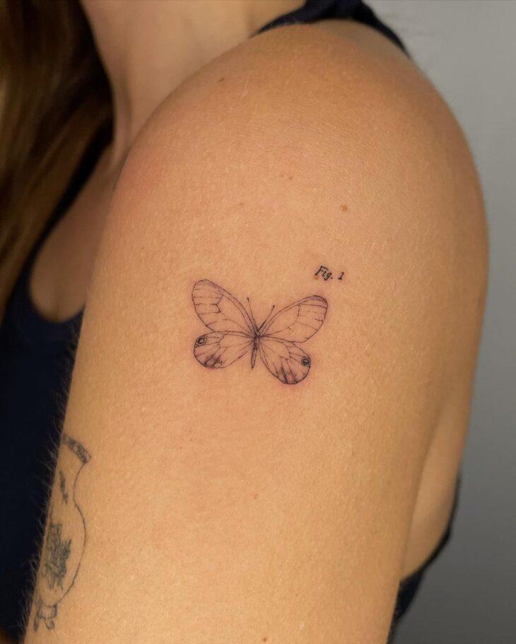 tatuagem de borboleta 109