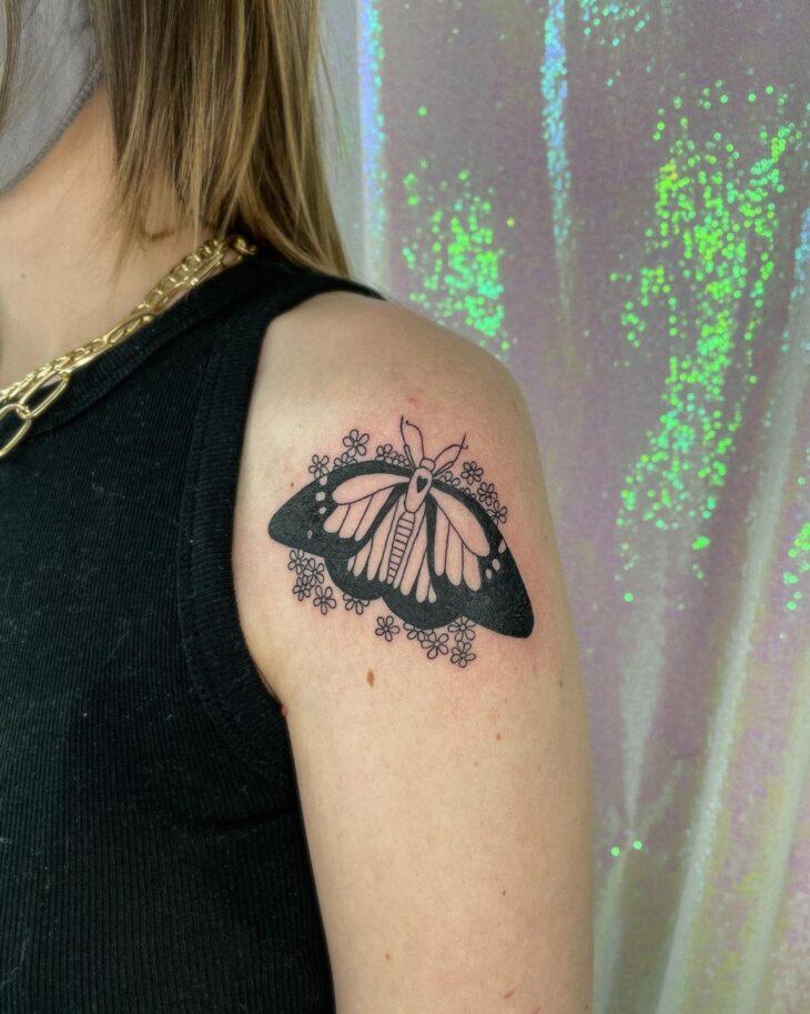 tatuagem de borboleta 110