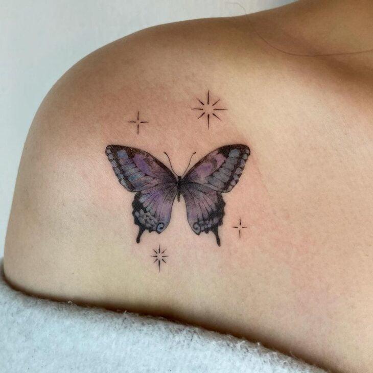 tatuagem de borboleta 114