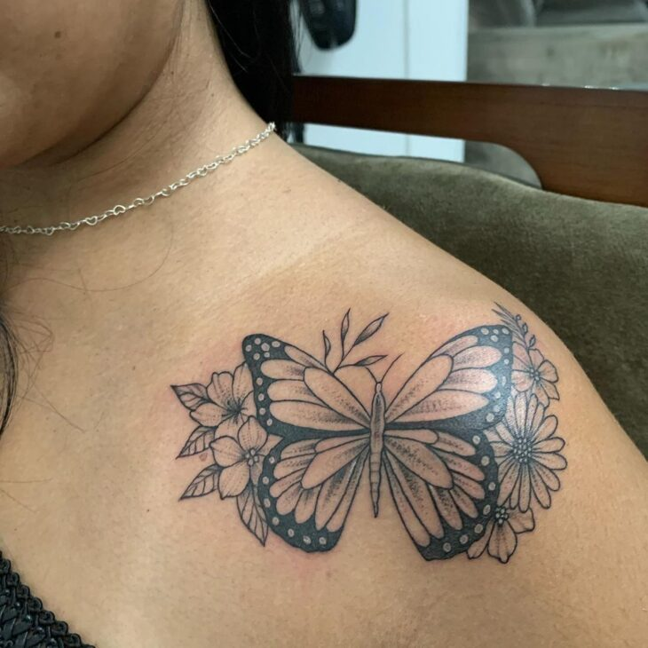 tatuagem de borboleta 118