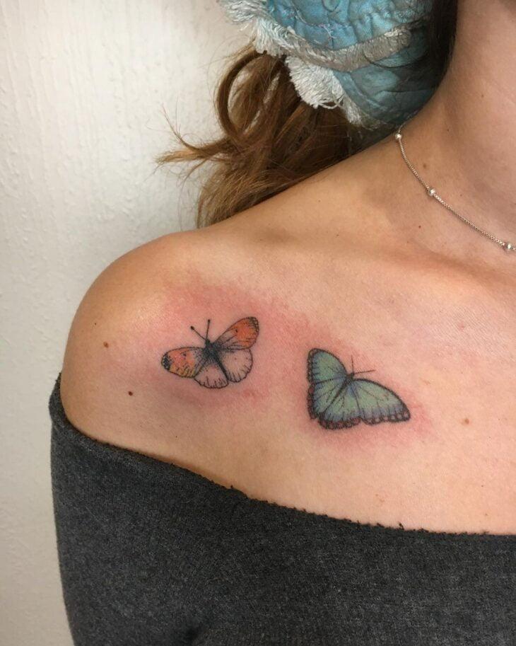 tatuagem de borboleta 120