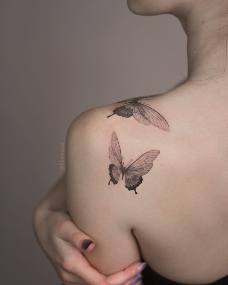 tatuagem de borboleta 121