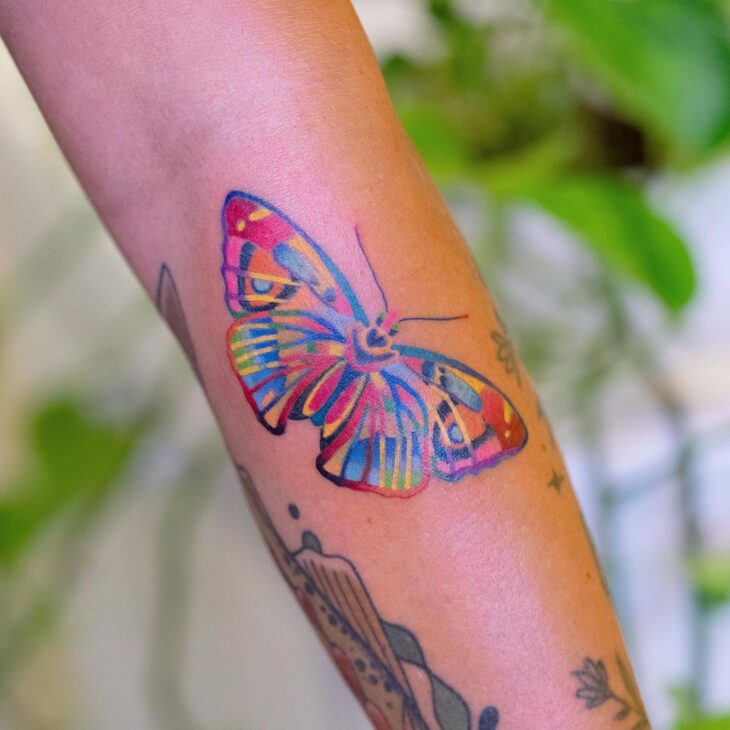 tatuagem de borboleta 125