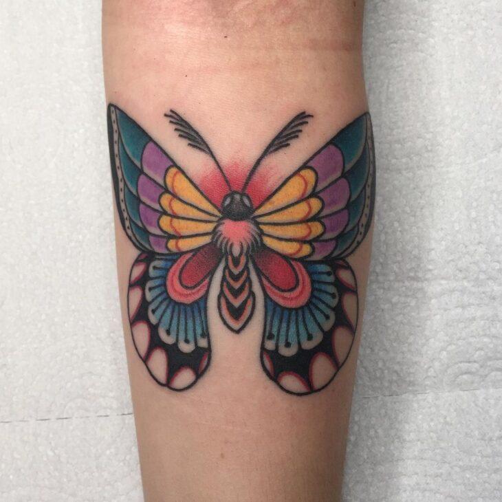 tatuagem de borboleta 126