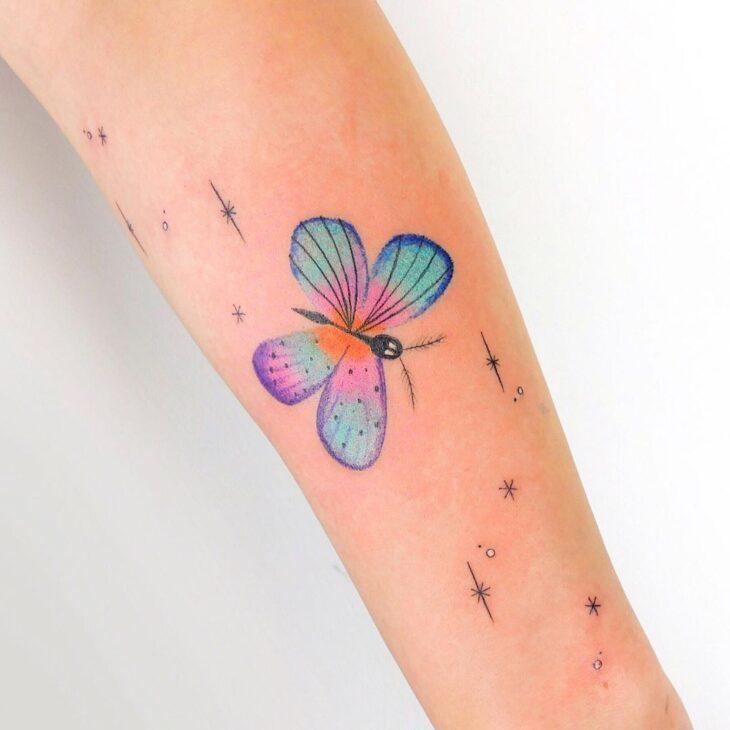 tatuagem de borboleta 128