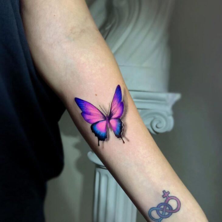 tatuagem de borboleta 129