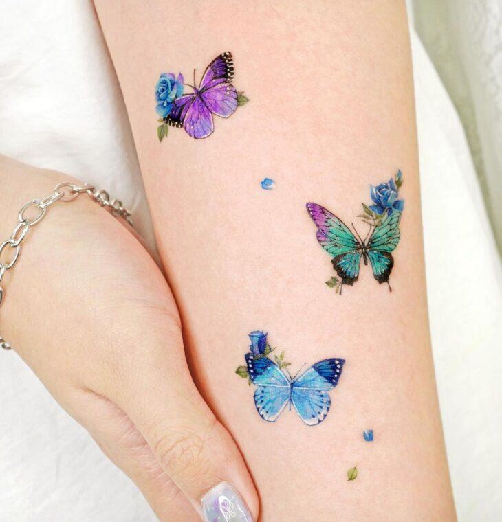 tatuagem de borboleta 130
