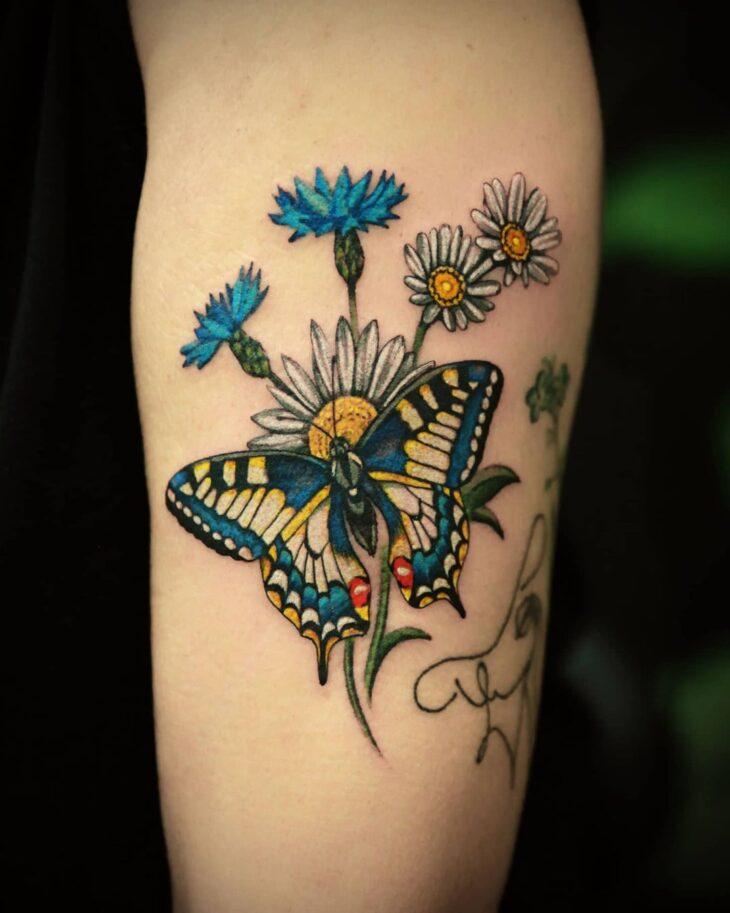 tatuagem de borboleta 131