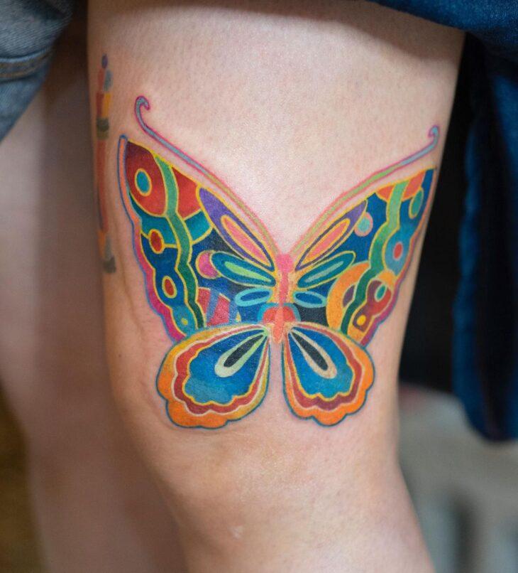 tatuagem de borboleta 132