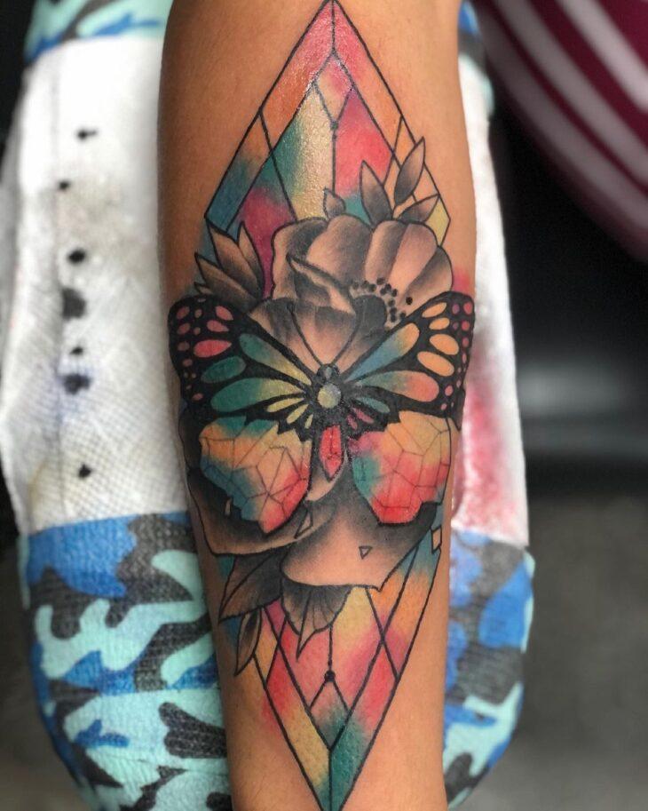 tatuagem de borboleta 135