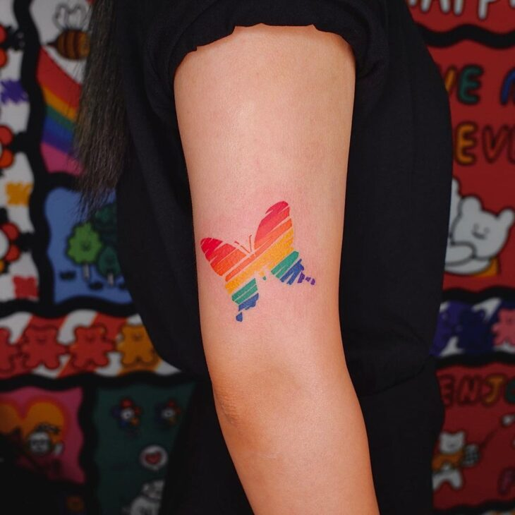 tatuagem de borboleta 138