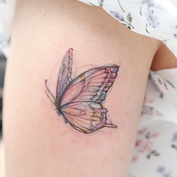 tatuagem de borboleta 17
