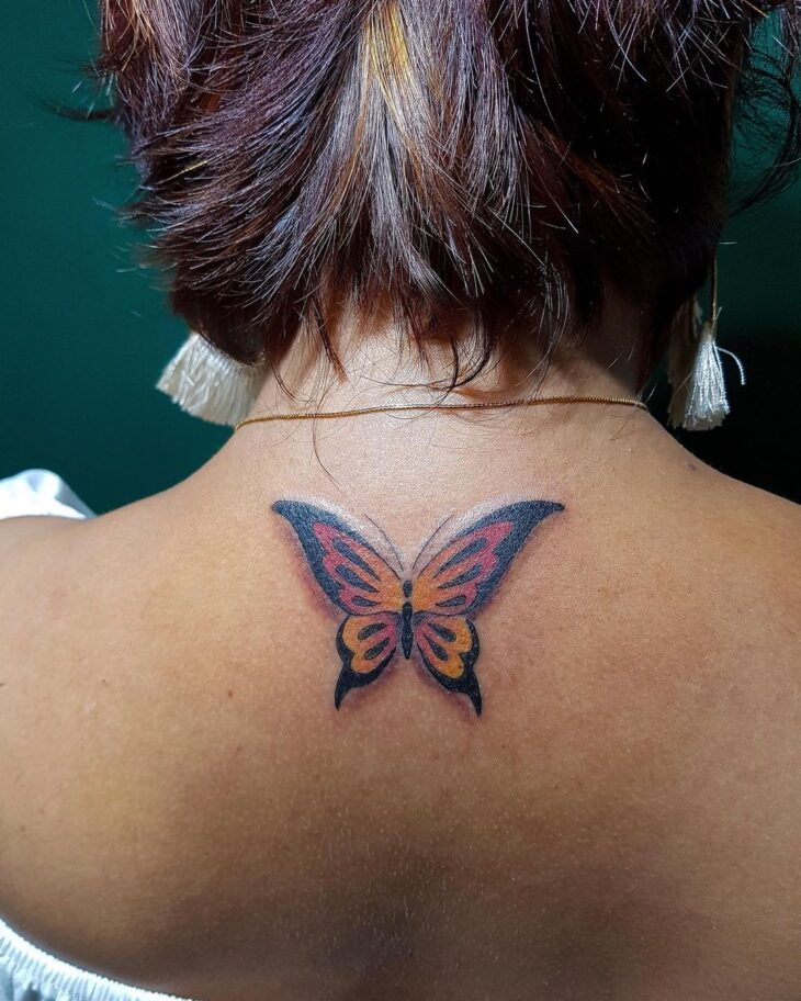 tatuagem de borboleta 143