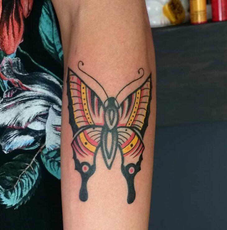 tatuagem de borboleta 144