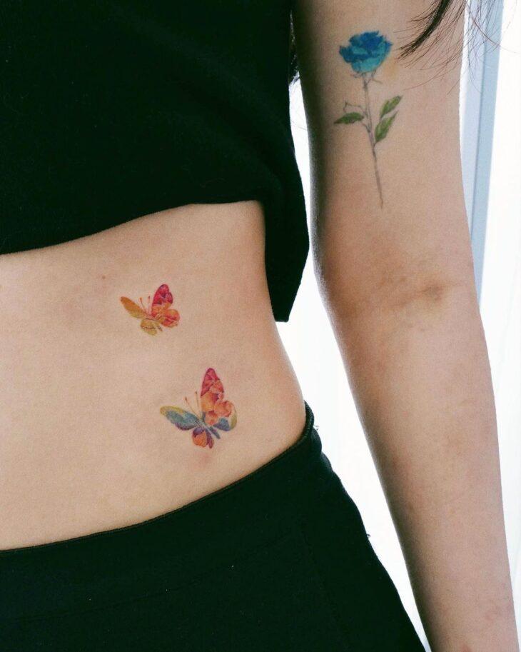 tatuagem de borboleta 145