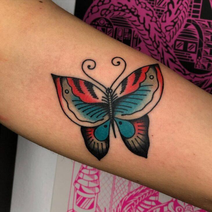 tatuagem de borboleta 146