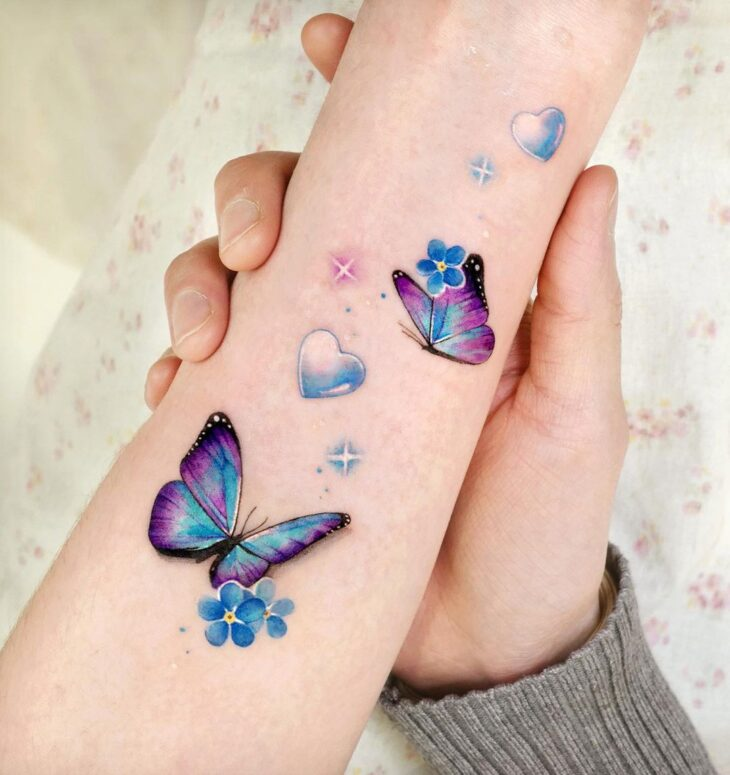 tatuagem de borboleta 150