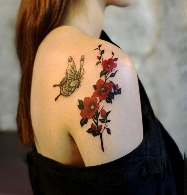 tatuagem de borboleta 154