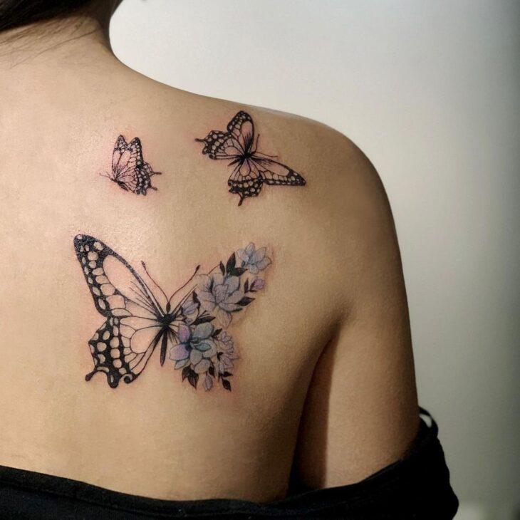 tatuagem de borboleta 155