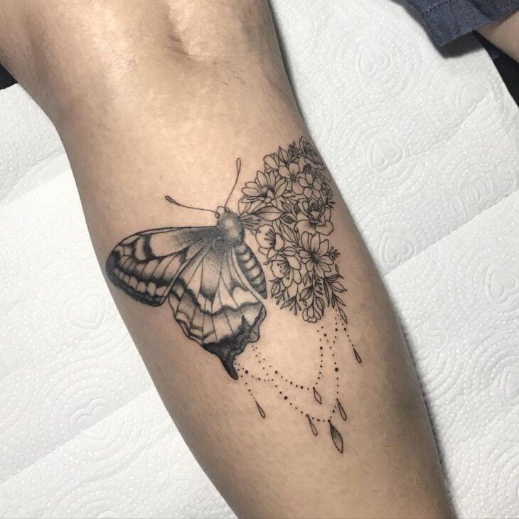 tatuagem de borboleta 156