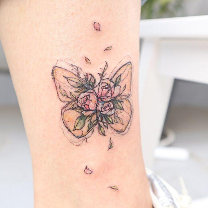 tatuagem de borboleta 157