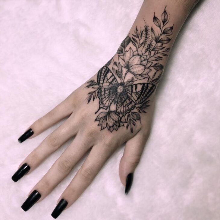 tatuagem de borboleta 158
