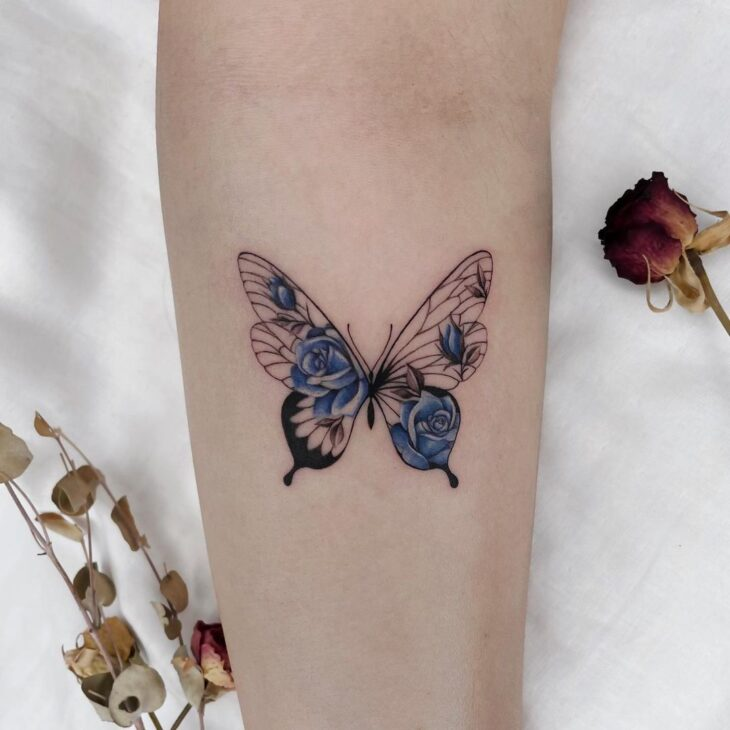 tatuagem de borboleta 159