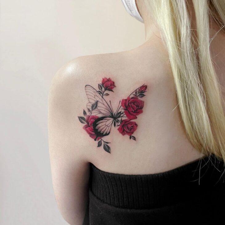 tatuagem de borboleta 161