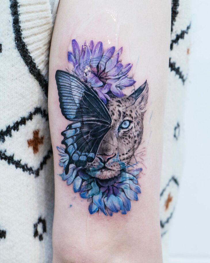 tatuagem de borboleta 162