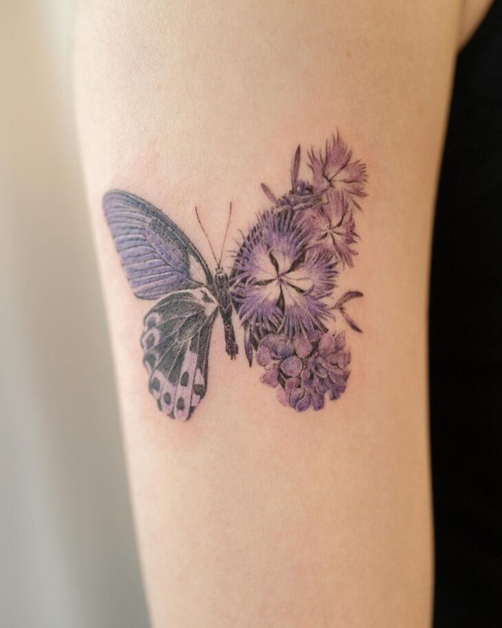 tatuagem de borboleta 163