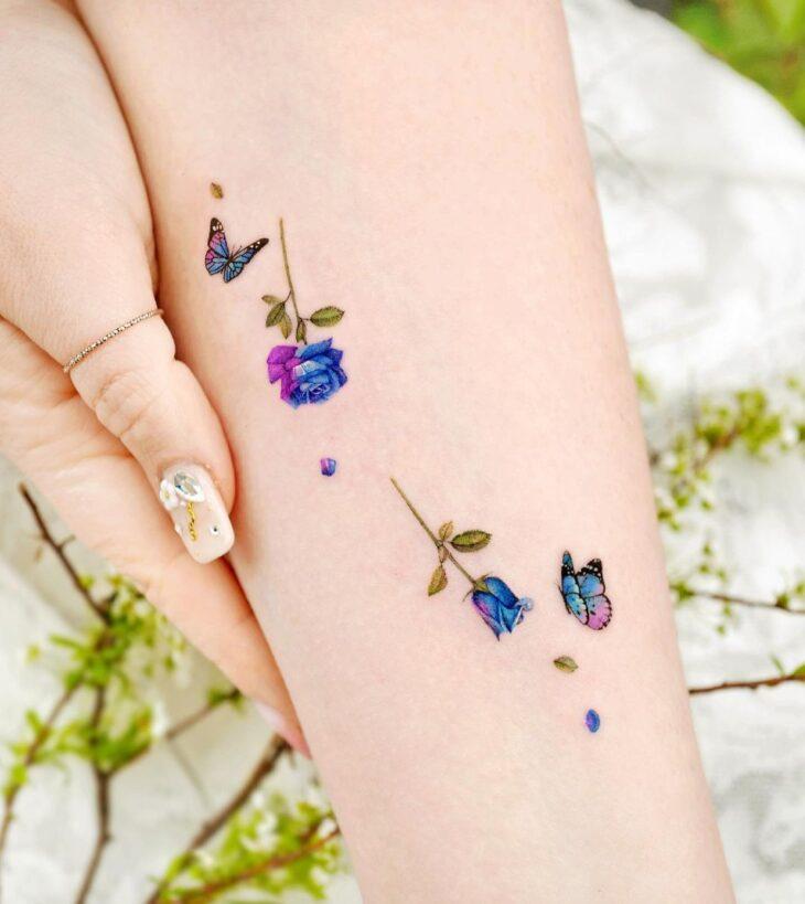 tatuagem de borboleta 168