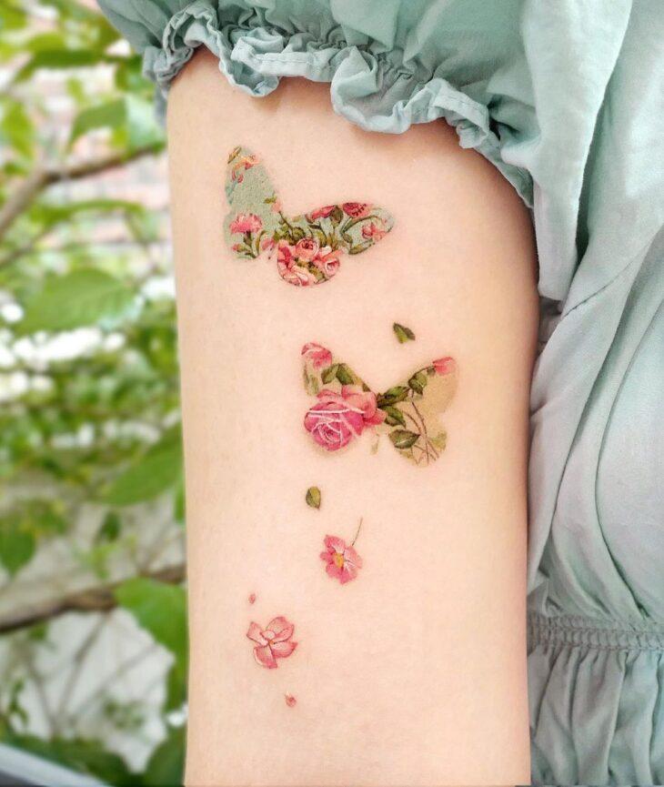 tatuagem de borboleta 171