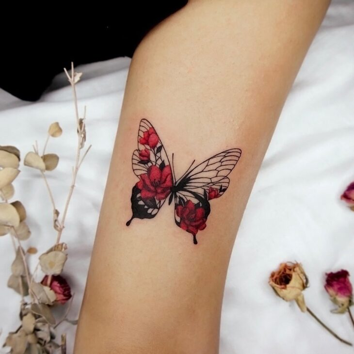 tatuagem de borboleta 172