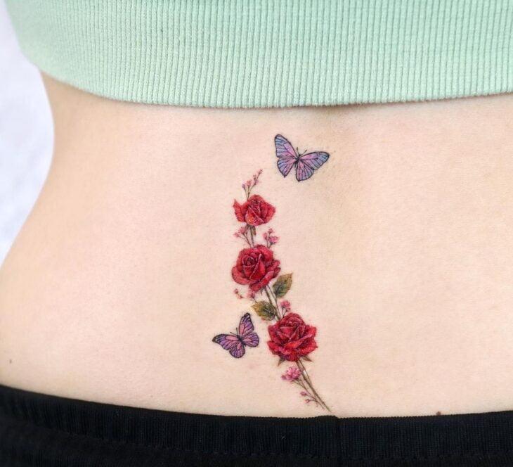 tatuagem de borboleta 174
