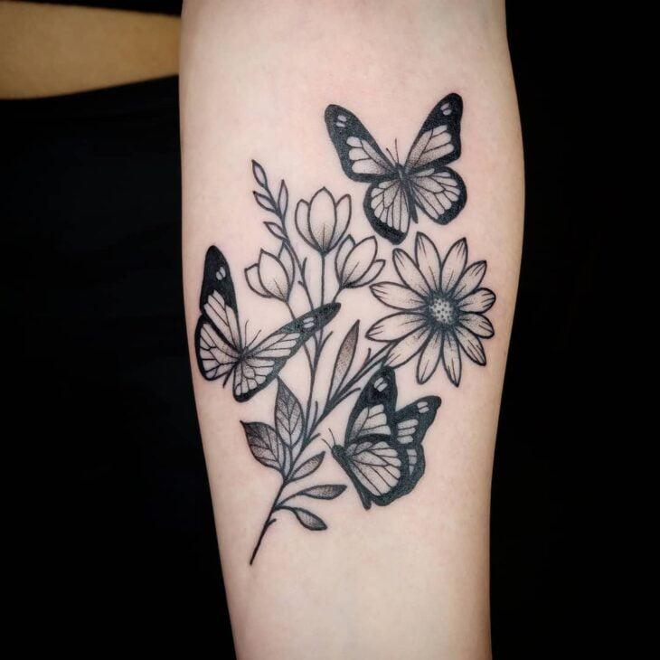 tatuagem de borboleta 178