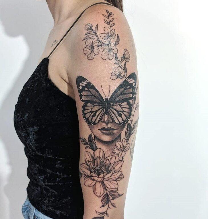 tatuagem de borboleta 179