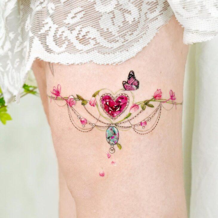 tatuagem de borboleta 180
