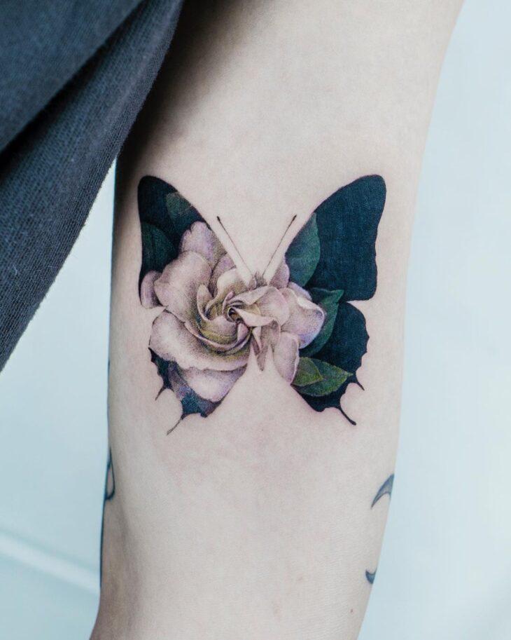 tatuagem de borboleta 183
