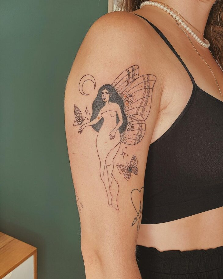 tatuagem de borboleta 187