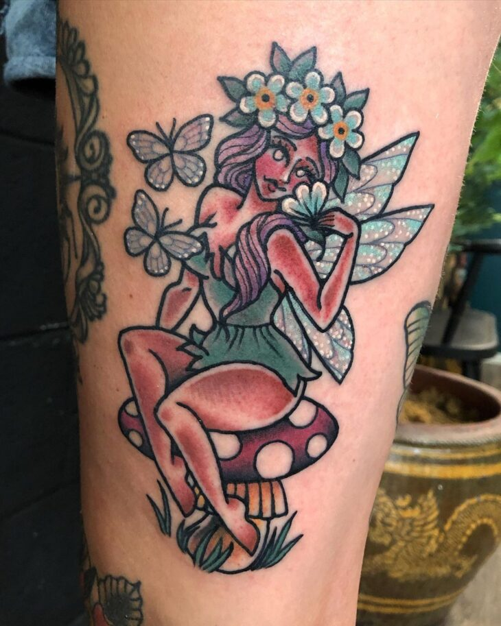 tatuagem de borboleta 188