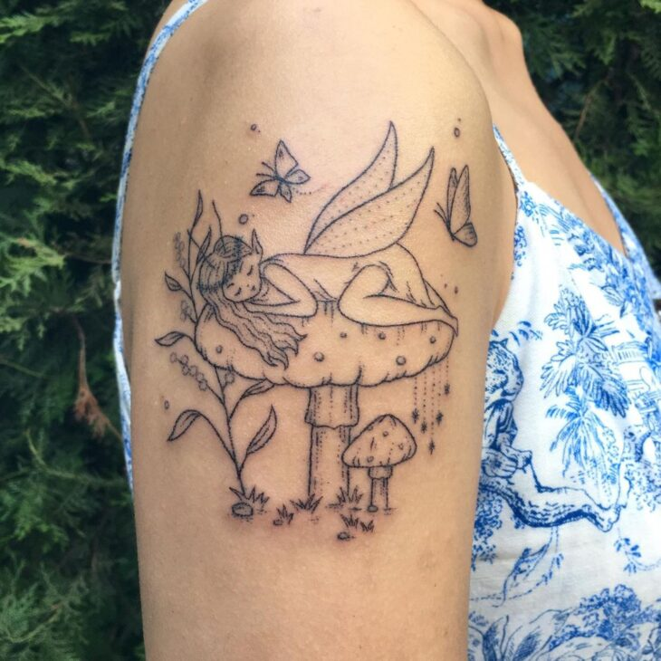 tatuagem de borboleta 189