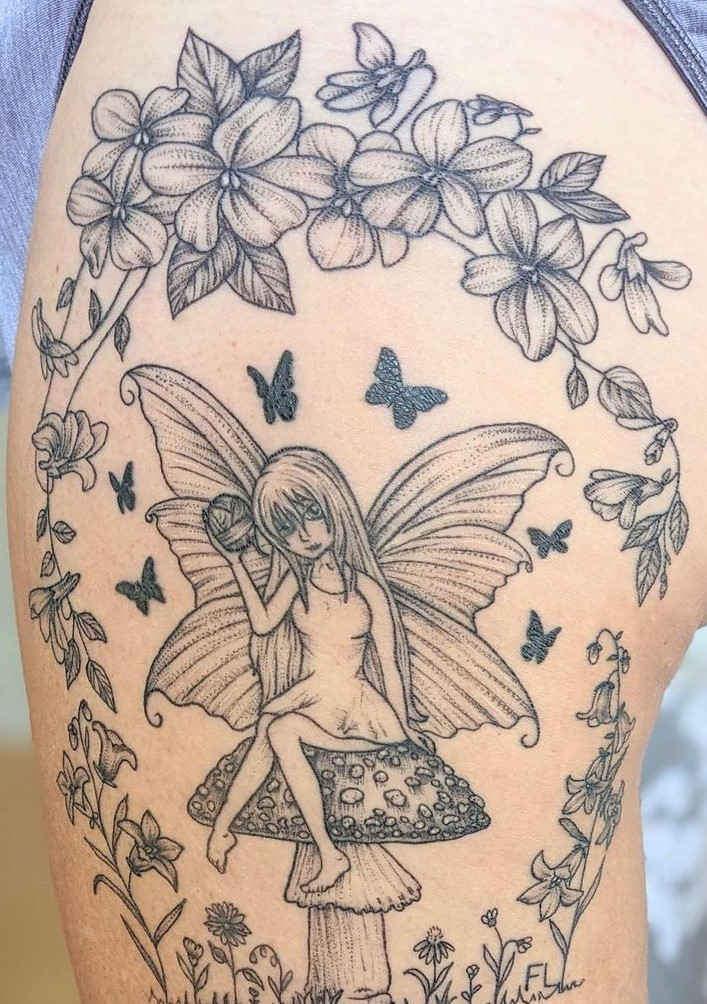 tatuagem de borboleta 191