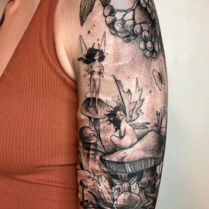 tatuagem de borboleta 192