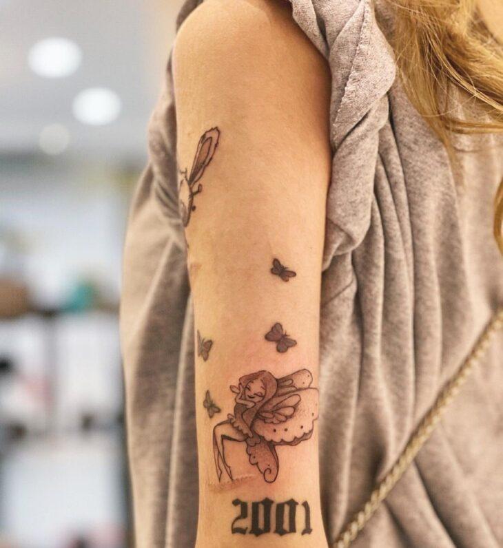 tatuagem de borboleta 201