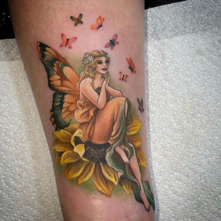 tatuagem de borboleta 202