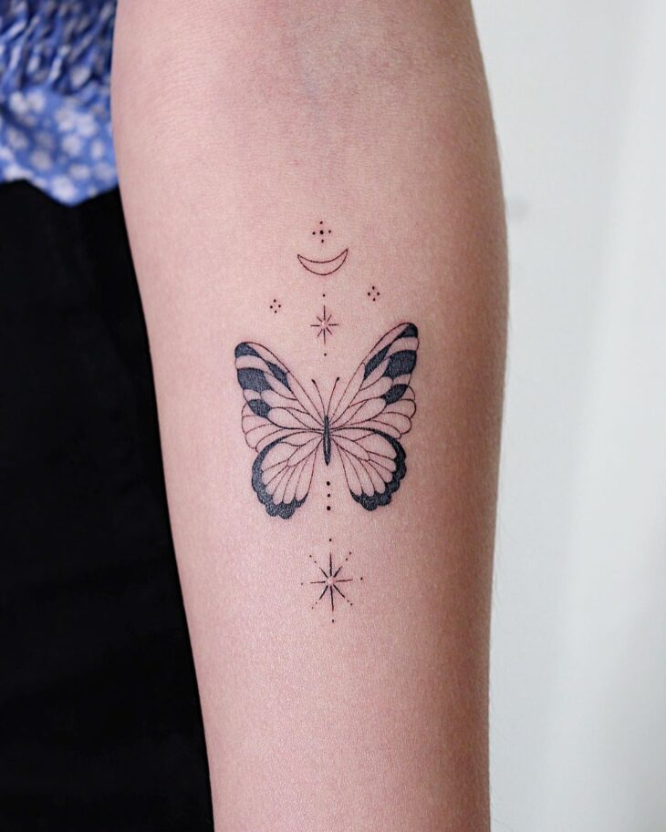 tatuagem de borboleta 23