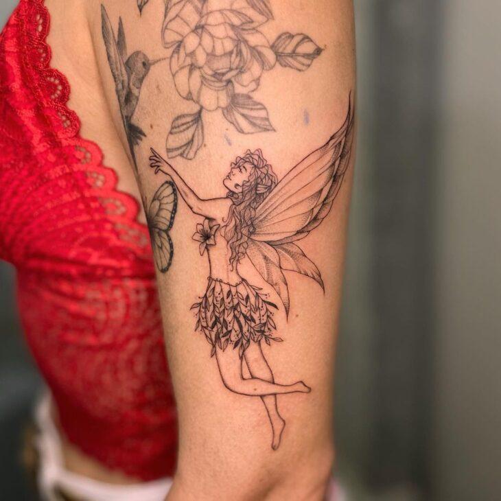 tatuagem de borboleta 204