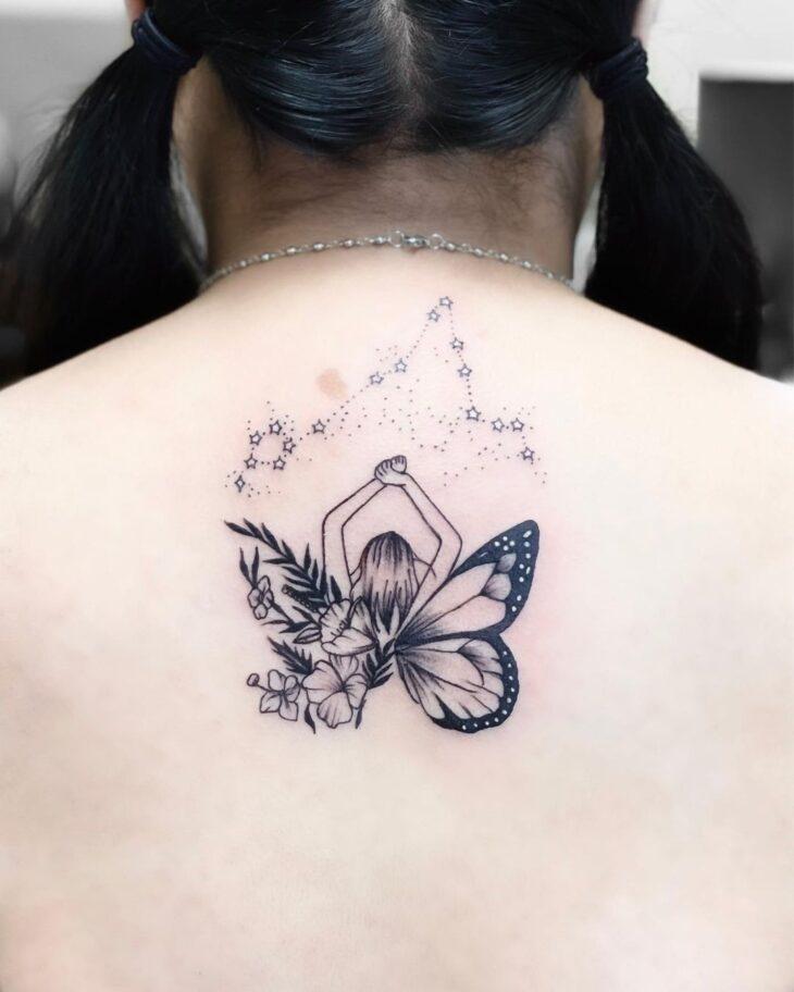 tatuagem de borboleta 206