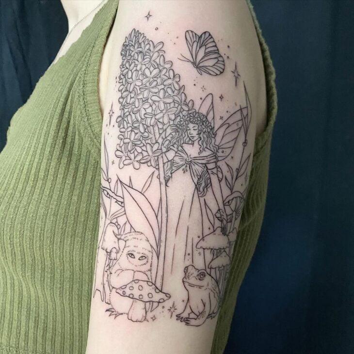 tatuagem de borboleta 208