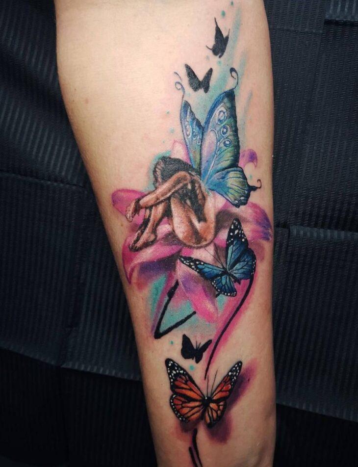 tatuagem de borboleta 209